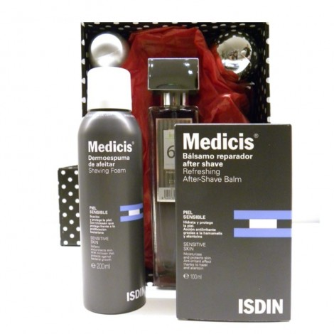 Caja de afeitado Medicis