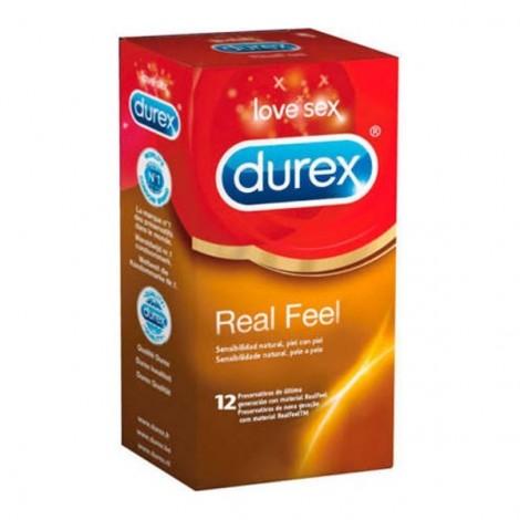 Durex Real Feel preservativos sin latex