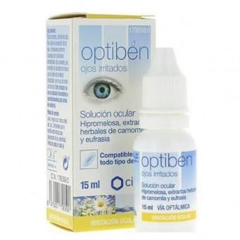Optibén Solución ocular ojos irritados 15 ml