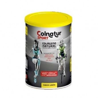 Colnatur Sport colágeno natural sabor limón 330 gr