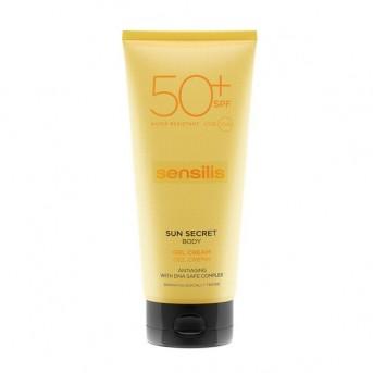 Sensilis SUN SECRET Gel Crema solar corporal SPF50+
