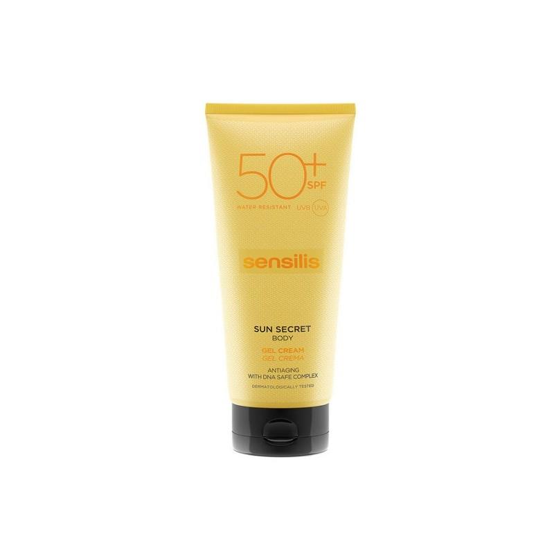 Sensilis Sun secret protective & antianging sun body gel-cream 50+ 200 ml