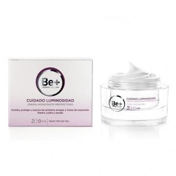 Be+ Cuidado luminosidad crema hidratante protectora spf15 50 ml