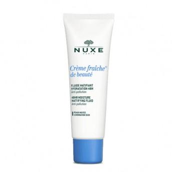 Nuxe Crème fraîche® de beauté Fluido Matificante hidratación 48 H 50ml