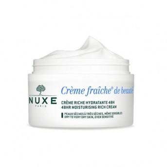 Nuxe Crème Fraîche® de Beauté Crema Rica Hidratante 48H 50 ml