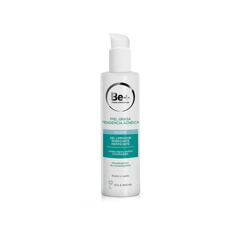 Be+ piel grasa gel limpiador