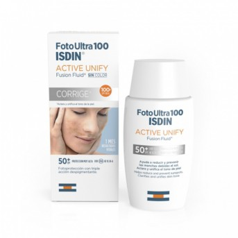 Foto Ultra SPF100+ Isdin Active Unify Fusion Fluid 50 ml