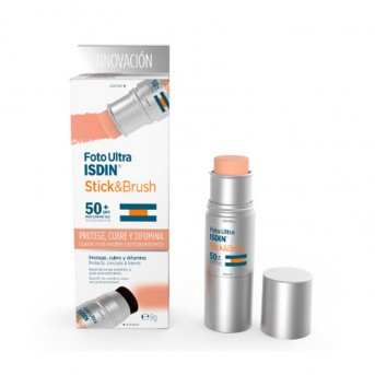 Foto Ultra Isdin Stick & Brush SPF 50+ 7g