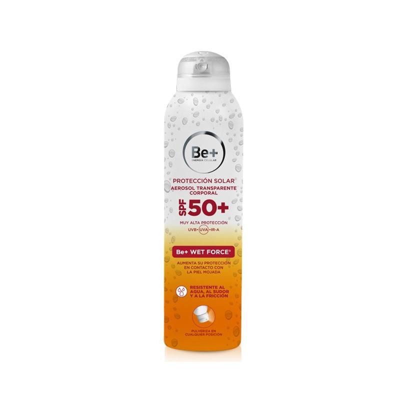 Be+ Protección solar SPF50+ wet force spray 200 ml
