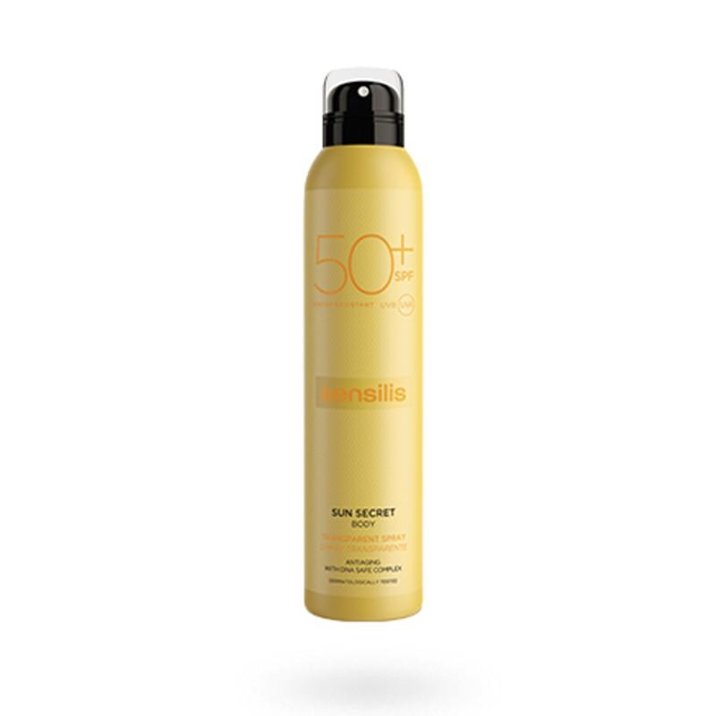 Sensilis Sun Secret spray transparente SPF 50+