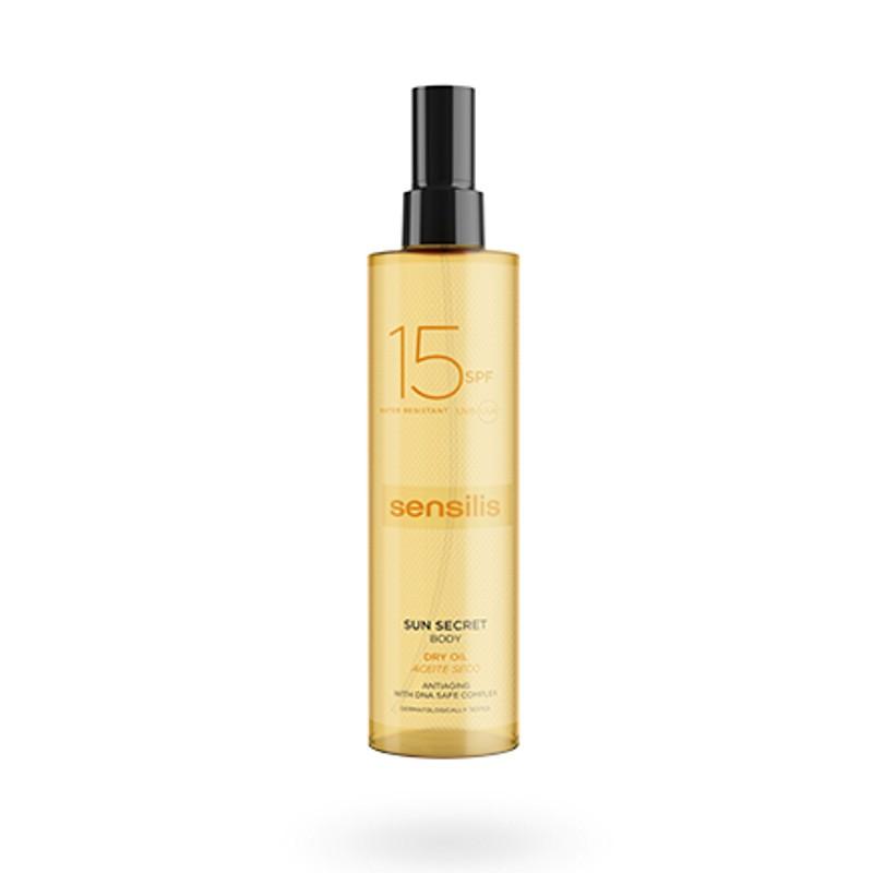 Sensilis Sun Secret aceite seco SPF15 200 ml
