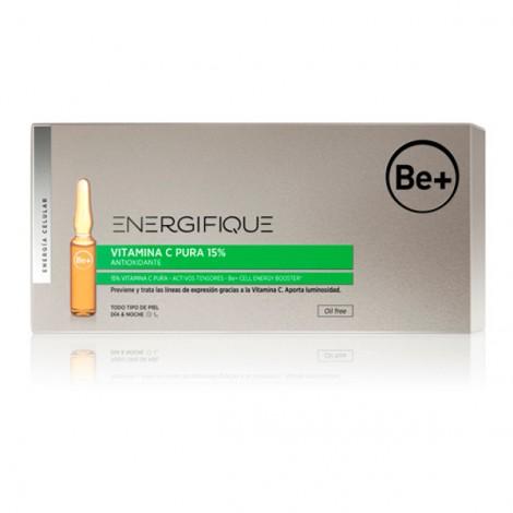 Be+ Ampollas Antioxidantes Vitamina C pura 15% 10ud