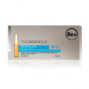 Be+ Energifique ampollas proteoglicanos spf 15 dia 30 ampollas