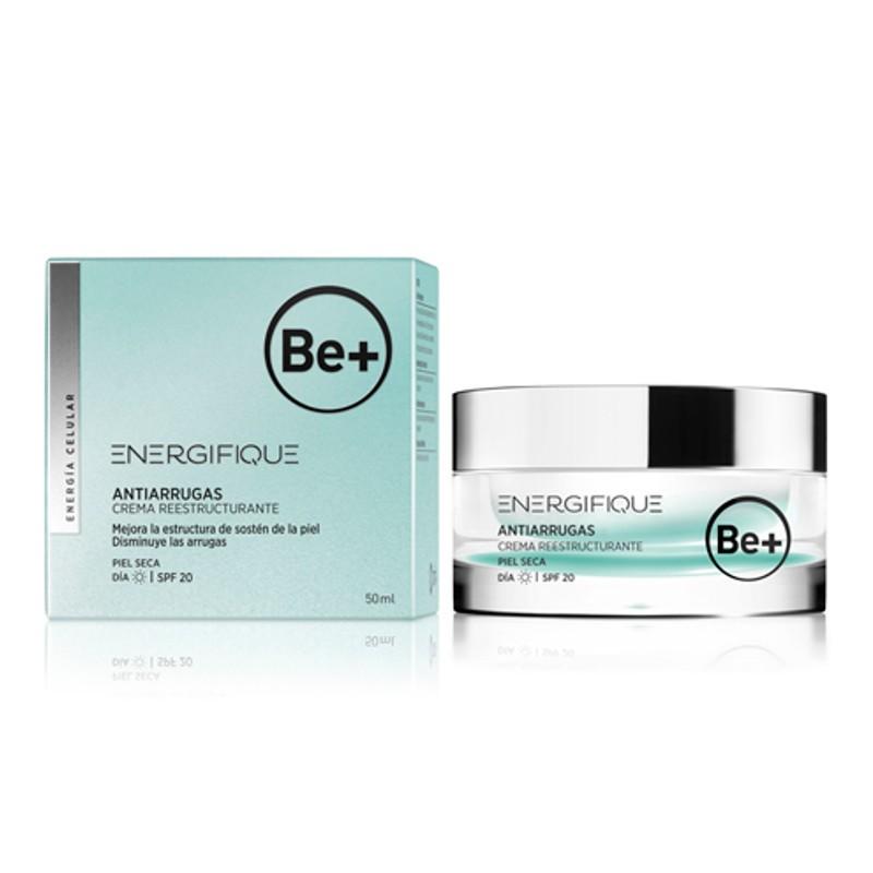 Be+ Cuidado antiarrugas. Crema reestructurante piel seca 50 ml