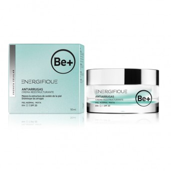 Be+ Energifique Cuidado antiarrugas Crema reestructurante SPF20 piel normal/mixta 50 ml