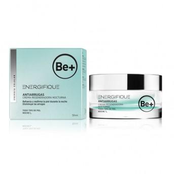 Be+ Energifique Cuidado antiarrugas Crema regeneradora nocturna 50 ml