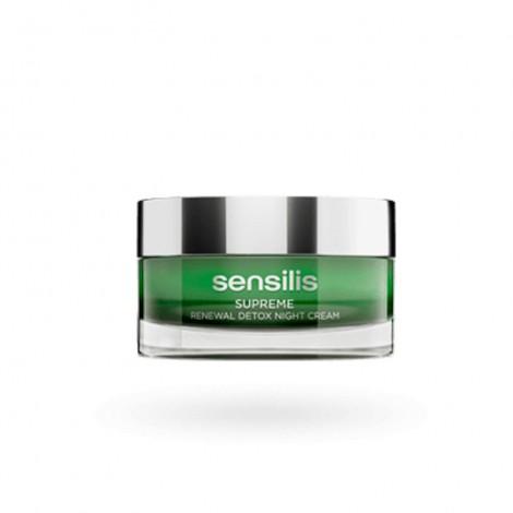 Sensilis Supreme Renewal Detox crema de noche 50 ml