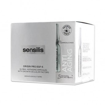 Sensilis Origin Pro EGF-5 Ampollas antiedad 30 X 1,5 ml
