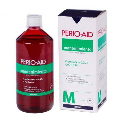 Perio Aid clorhexidina 0.05% colutorio mantenimiento 500 ml