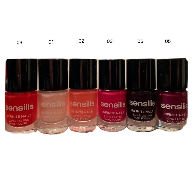 Sensilis Infinite Nails esmalte uñas larga duración colores 10 ml
