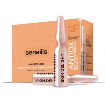 Sensilis Skin Delight Ampollas antioxidantes e Iluminadoras 15 X 1,5 ml