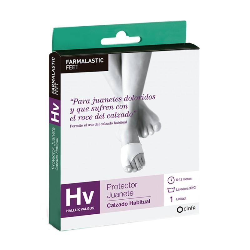 Farmalastic Feet Protector Juanete HV calzado habitual