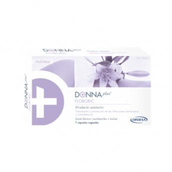 Donna Plus Floboric 7 cápsulas vaginales Ordesa