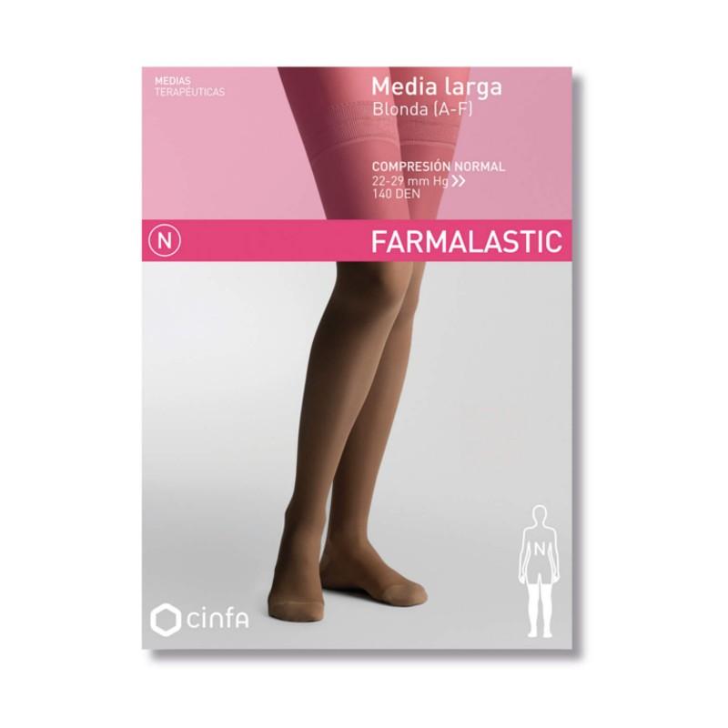 Farmalastic Classic Media larga blonda (A-F) Compresión Normal