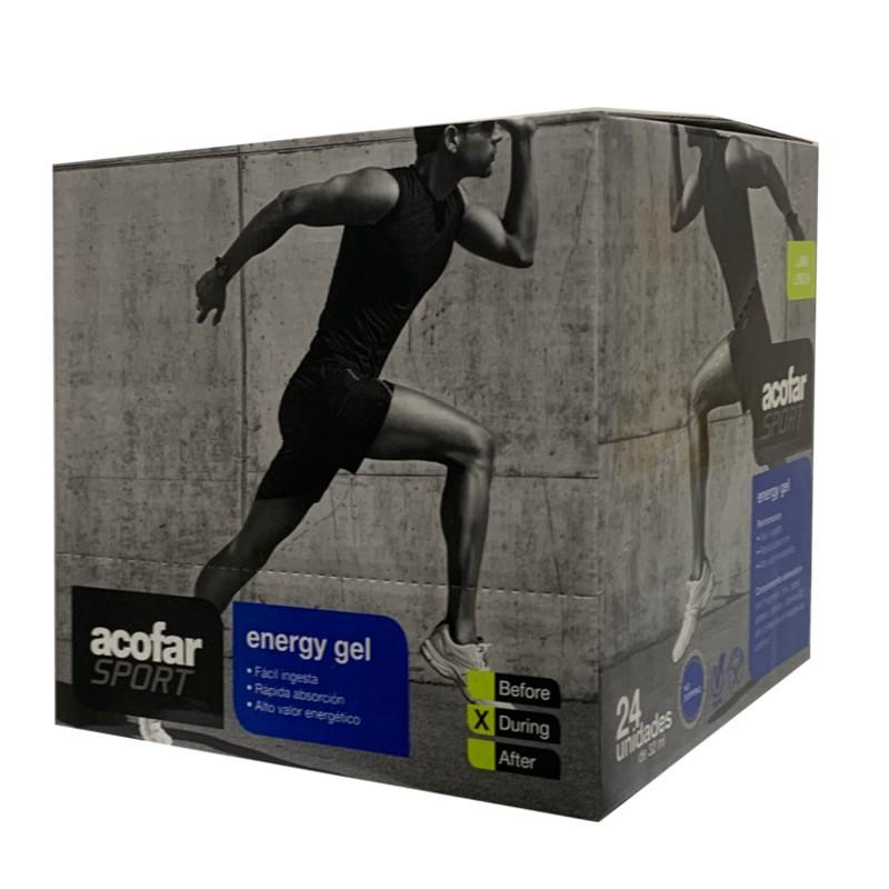 Acofar sport energy gel plus 32 ml sobre sabores