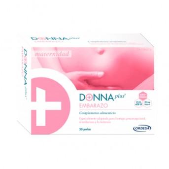 Donna plus Embarazo 30 perlas laboratorios Ordesa