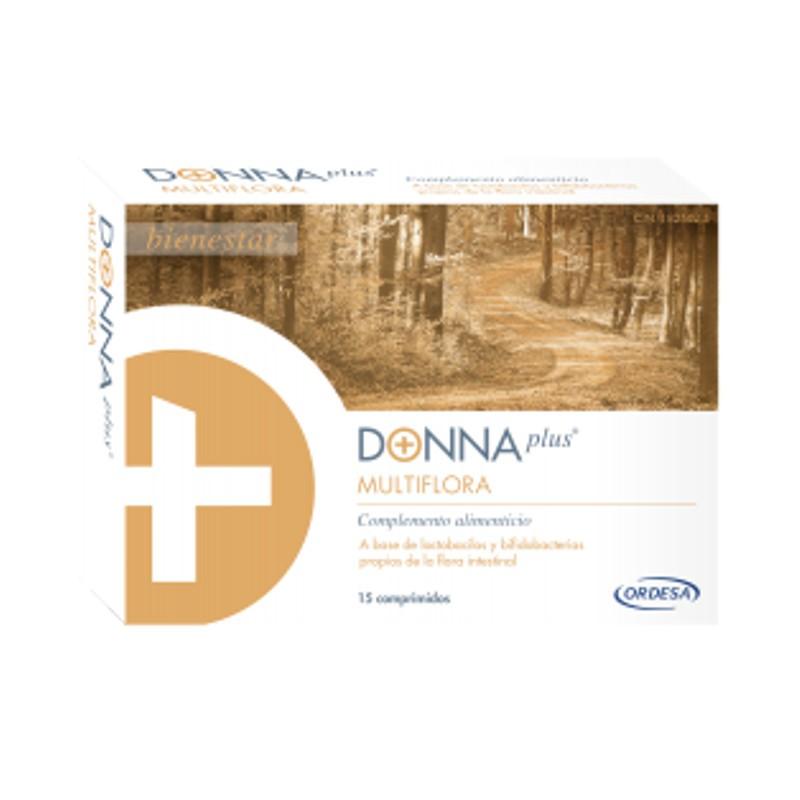 Donna plus multiflora 15 comprimidos gastrorresistentes Ordesa