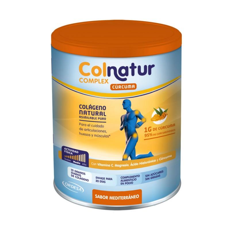 Colnatur complex colageno natural con cúrcuma sabor mediterraneo