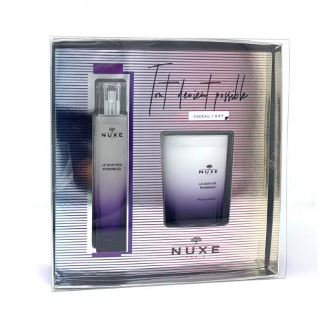 Coffret Nuxe Le soir des possibles perfume gift regalo