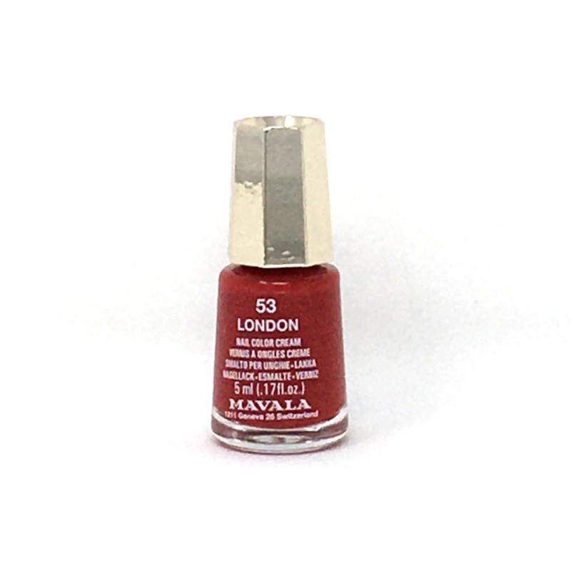 Mavala esmalte uñas 53 London rojo