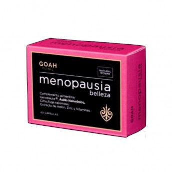 Goah Clinic Menopausia belleza 60 cápsulas