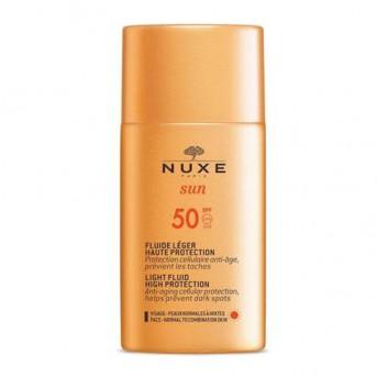 Nuxe Sun fluido ligero alta protección SPF 50+ 50 ml