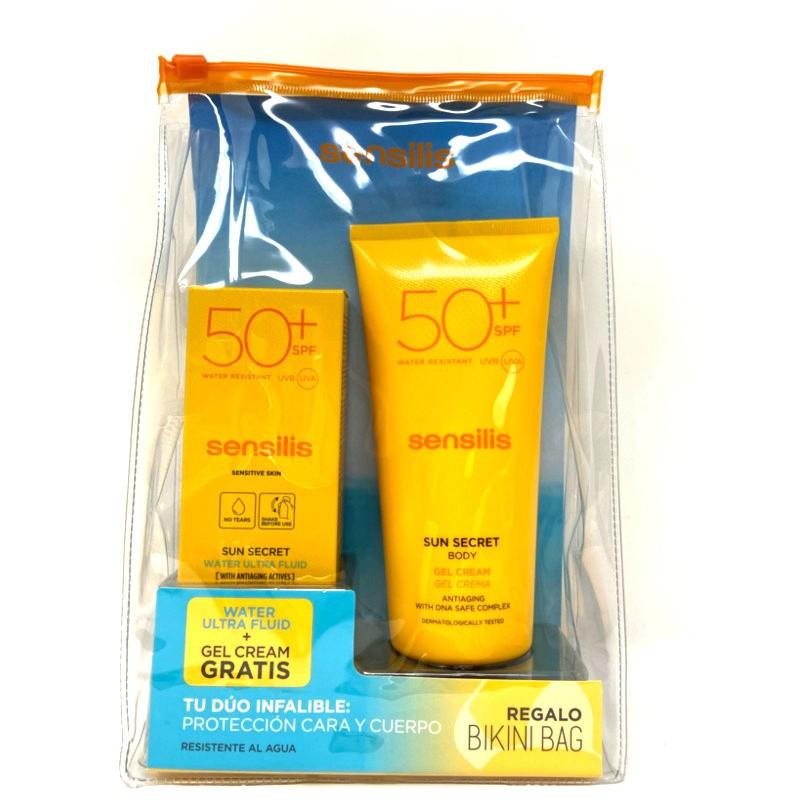 Sensilis Duo Sun Secret Water ultra fluid + Gel crema