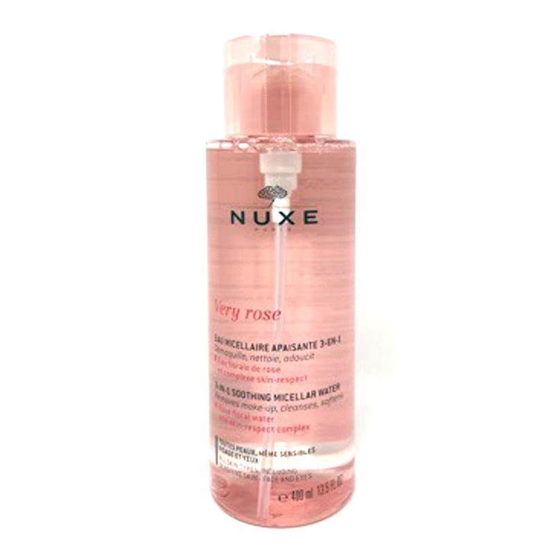 Nuxe Very rose Agua micelar calmante 3 en 1 400 ml