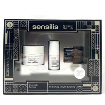 Sensilis Cofre Upgrade noche + contorno ojos + ampollas