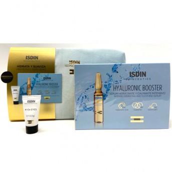 ISDIN Isdinceutics Neceser Azul Hyaluronic Booster + K-Ox eyes