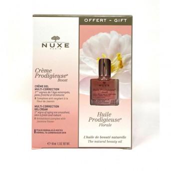 Nuxe Creme Prodigiesuse Boots Multi-Correctión gel crema pieles mixtas 40 ml