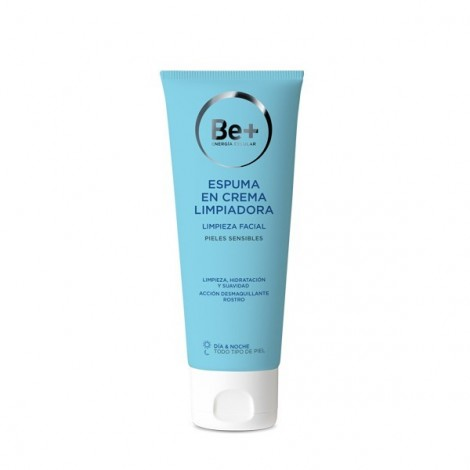 BE+ Espuma en crema limpiadora pieles sensibles 200 ml