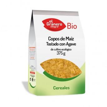 Copos de Maiz tostado con Agave El Granero Integral