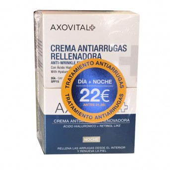 Axovital Pack crema antiarrugas dia y noche