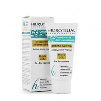 Hidrotelial Desodorante Antitranspirante Crema activa