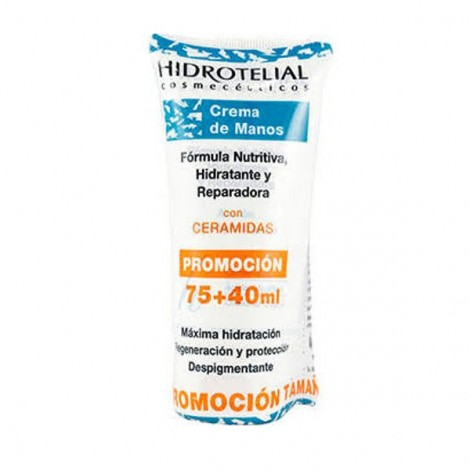 Hidrotelial crema de manos 75 ml+ 40 ml