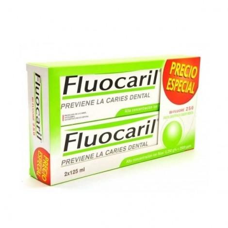 Fluocaril Bi Fluore pasta sabor menta duplo
