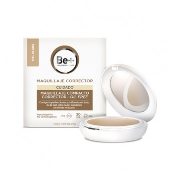 Be+ Maquillaje Compacto Corrector Oil-Free SPF30