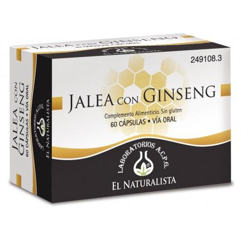 El naturalista Jaleta+ ginseng con magnesio 48 cap